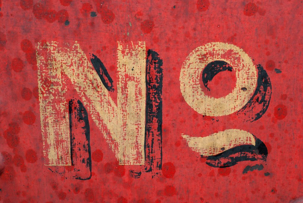 saying no adds value