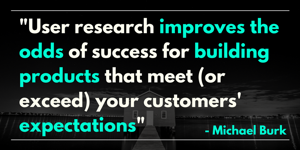 User Research to Validate Product Ideas