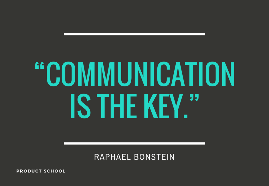 Communication Is the Key with PayPal's former Product Manager